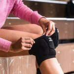Girl with Mizuno LR6 Volleyball Kneepad