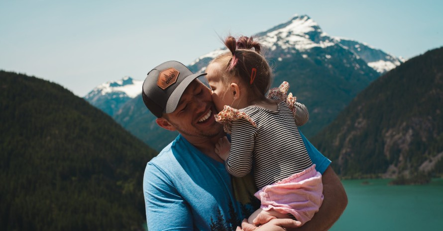 family-on-hiking