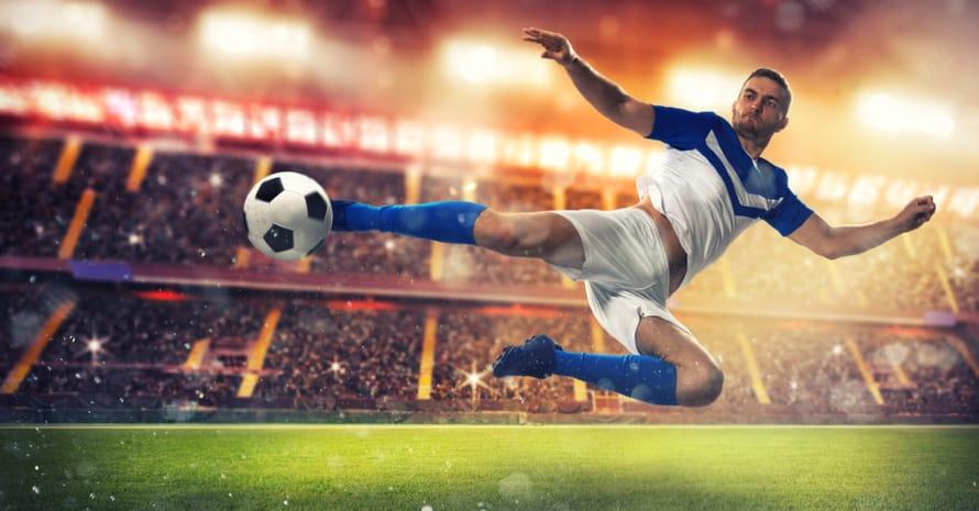 A Striker In Soccer